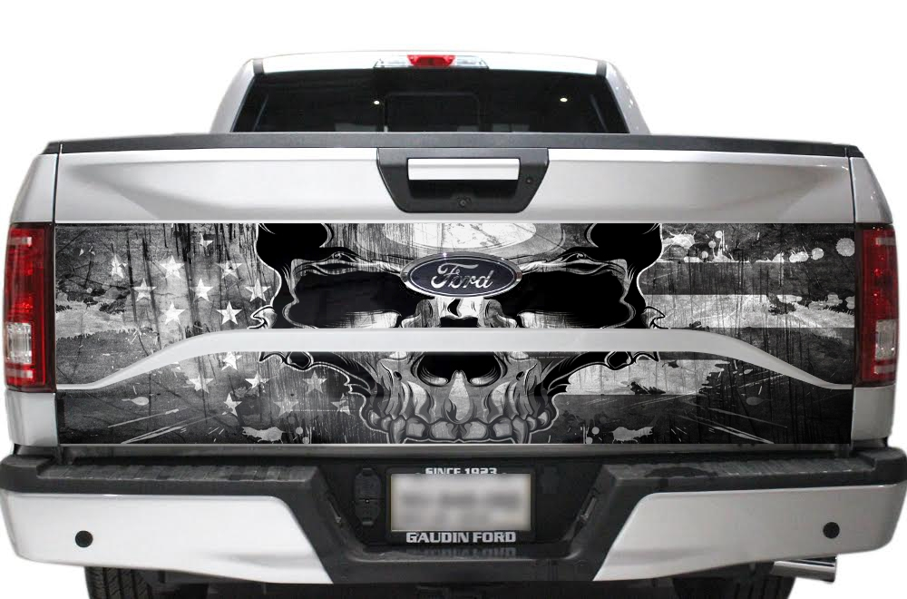 Ford F150 Trucktailgate Wrap Graphic Sticker Decal 2015