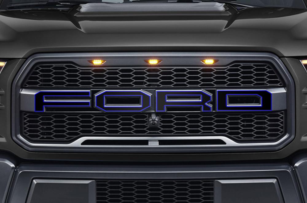 Ford Raptor Vinyl Graphics For Grille