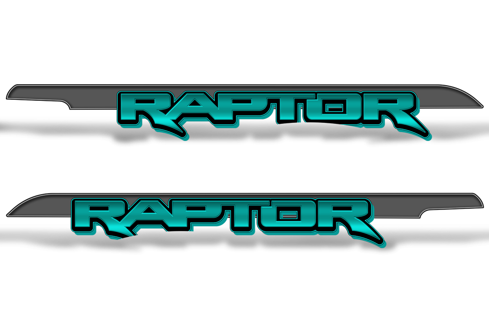 RAPTOR Truck Bed Graphic Decal Sticker Set For Ford F150 ...