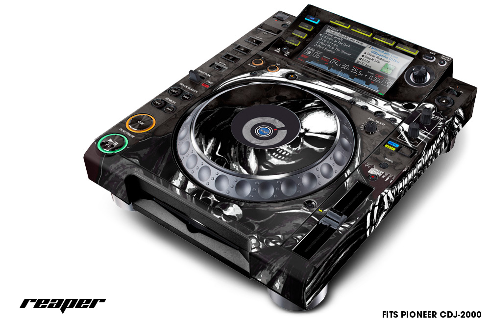 Pioneer Cdj 2000 Wrap Sticker Skin Decal