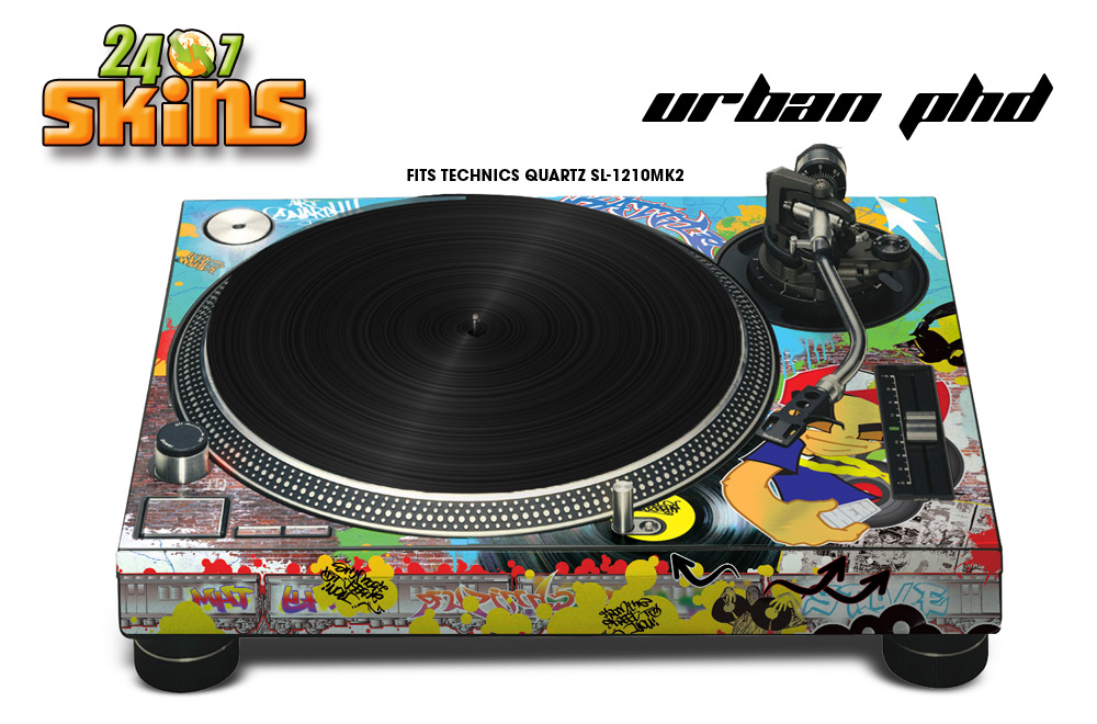 2006 Subaru Wrx For Sale >> Technics SL 1200 Turntable graphic wrap skin