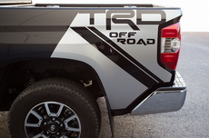 Toyota Tundra Art Fender Graphics Vinyl Decal - Off Road (2014-2017)