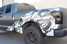 Toyota Tundra TRD 4X4 Fender Graphic Vinyl Sticker Decal Full Bed Part 2007-2013 NIGHTMARE