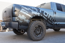 Toyota Tundra TRD 4X4 Fender Graphics Vinyl Sticker Decals Full Bed Parts 2007-2013 TORN TUNDRA
