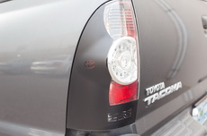 Toyota Tacoma Brake Light Vinyl Graphics Decal BLACK 2005-2013