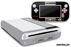 Skin Decal Wrap for the Nintendo Wii U Console and Remote