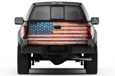 Universal Tailgate Graphic Wrap Trim Kit for Ford Chevy Toyota Dodge Trucks
