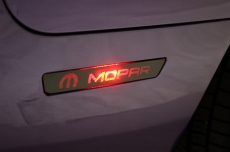 Dodge Challenger Matte Mopar Rear Side Marker Vinyl Graphics Decal 2015-2016