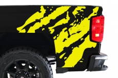 Chevy Silverado Truck 2014-2016 1500/2500 Rear Quarter Panel Bed Vinyl - RIPPED