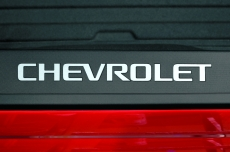 Chevy Silverado Truck 2014-2016 1500/2500 Bed Logo Inserts