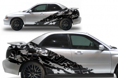 Subaru Impreza STI WRX Custom Vinyl Decal Wrap Kit 2002-2007 - SPLASH