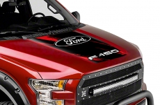 Ford F150 Truck Center Hood Wrap Graphic Sticker Decal 2015-2017