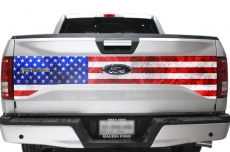 Ford F-150 Truck Bed Tailgate Graphic Wrap Sticker Decal F150 2015-2017