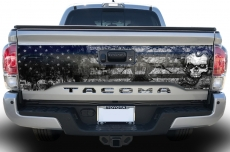 Toyota Tacoma Truck Bed Tailgate Graphic Wrap Sticker + Insert Decals