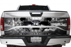 Ford F-150 2 Piece Truck Bed Tailgate Graphic Wrap Sticker Decal F150 2015-2017